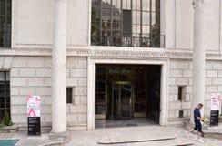 英国建筑师皇家学院,伦敦 免版税库存图片