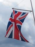 英国(英国)亦称英国国旗的旗子 免版税图库摄影
