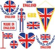 英国 库存例证
