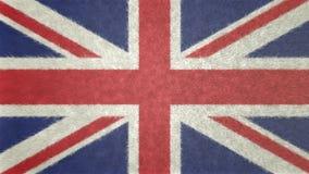 英国3D的原始的旗子图象 库存图片