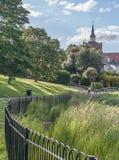 英国Essex Maldon场面。 免版税图库摄影