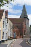 英国Essex Maldon场面。 免版税库存图片