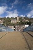 英国ironbridge 免版税库存照片