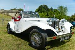英国JBA猎鹰汽车 库存照片
