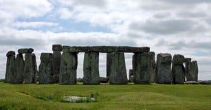 英国s stonehenge 库存图片