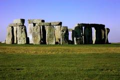 英国stonehenge威尔特郡 免版税图库摄影