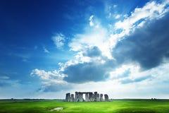 英国stonehenge 英国 库存照片
