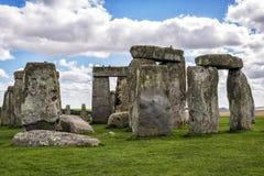 英国stonehenge 图库摄影