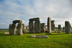 英国stonehenge 免版税库存照片