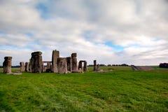 英国stonehenge 免版税图库摄影