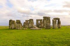 英国stonehenge 免版税库存图片
