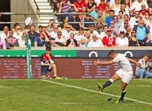 英国v威尔士在Twickenham的橄榄球联合 库存照片