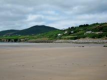 英寸海滩,爱尔兰 免版税库存照片