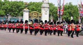 英尺守卫王国团结的伦敦 库存照片