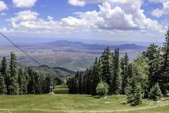 从10,350英尺的谷 免版税库存图片
