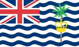 英属印度洋领地 向量例证