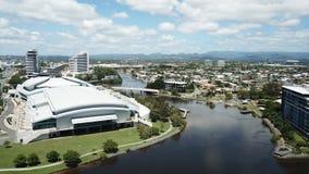 英属黄金海岸大会和展览会Broadbeach,英属黄金海岸,昆士兰 库存照片