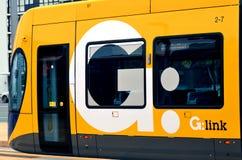 英属黄金海岸光路轨G -昆士兰澳大利亚 库存照片