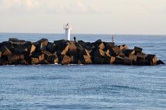英属黄金海岸海上航道-昆士兰澳大利亚 库存图片