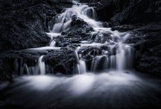 英属黄金海岸瀑布 库存图片