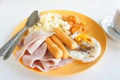 英式早餐: 免版税图库摄影