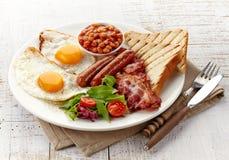 英式早餐 免版税图库摄影