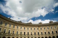 英王乔治一世至三世时期大厦的fascade 免版税图库摄影