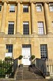 英王乔治一世至三世时期房子 库存照片