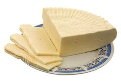 英王乔治一世至三世时期的干酪 免版税库存照片