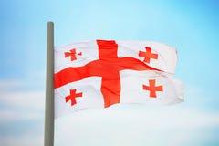 英王乔治一世至三世时期的标志 免版税库存照片