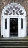 英王乔治一世至三世时期的门道入口 图库摄影