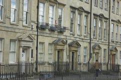 英王乔治一世至三世时期街道 免版税库存照片