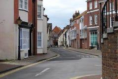 英王乔治一世至三世时期房子, Poole,多西特 免版税库存照片