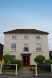英王乔治一世至三世时期房子Fordingbridge,汉普郡 库存照片