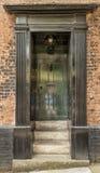 英王乔治一世至三世时期的门 免版税图库摄影