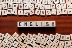 英语单词概念 向量例证