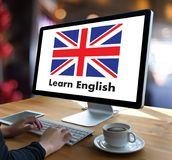 英语(英国英国语言教育)学会英国Lan 库存照片