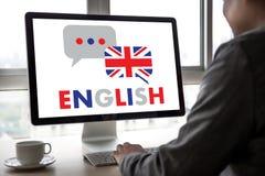 英语(英国英国语言教育)您讲engl 免版税库存照片