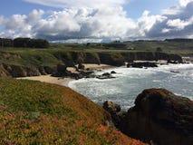 17英里推进在加利福尼亚 免版税库存照片