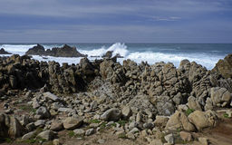 17英里推进,加利福尼亚,美国 免版税库存照片