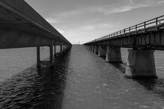 7英里桥梁 免版税图库摄影