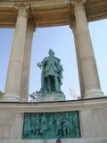 英雄正方形,布达佩斯 图库摄影