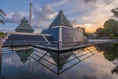 英雄纪念碑,苏拉巴亚,东爪哇,印度尼西亚 图库摄影