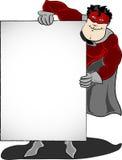 英雄超级藏品的面板 免版税库存照片