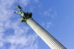 英雄`正方形在布达佩斯 图库摄影