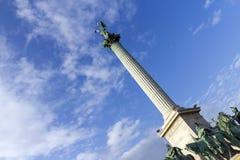英雄`正方形在布达佩斯 库存照片
