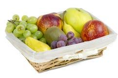 苹果、梨和葡萄开胃秋天结果实 图库摄影