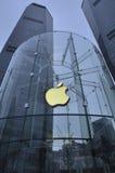 苹果上海存储 免版税库存图片