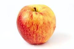 苹果下落 库存图片