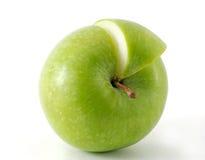 苹果他的片式 免版税库存照片